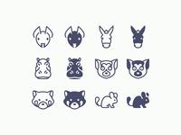 iOS icons: Animals