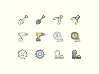 Hand Drawn icons: DIY