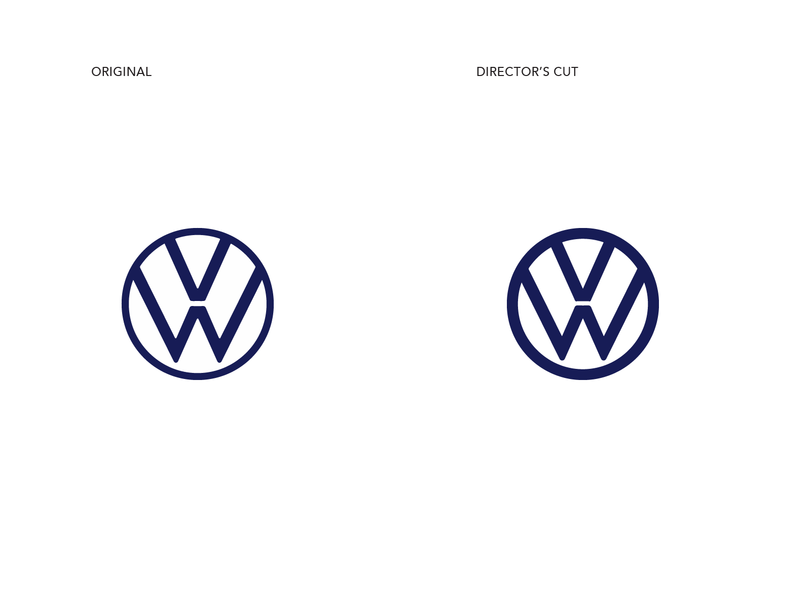 VW New Logo
