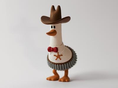 3D Printed Sheriff 3d 3d print miniature toy model