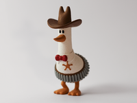 3D Printed Sheriff