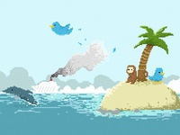Pixel island progress