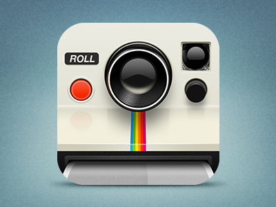 Polaroid dribbble