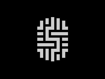 Second logo virtual assistant luxurious computer finger print