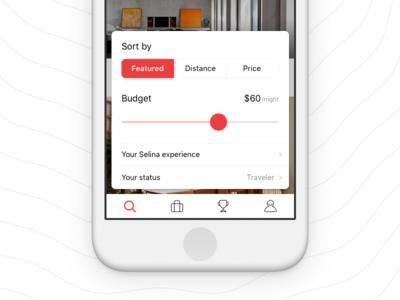 Sorting iphone ios ui nav bar card sort filter