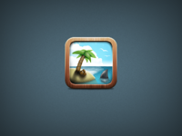 Palm Island icon revised