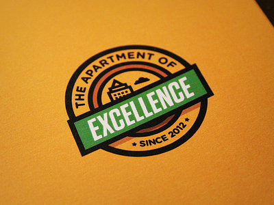 Apartment Badge badge apartment excellence