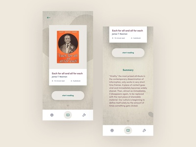 BOOK READING APP 3 concepts reading books
