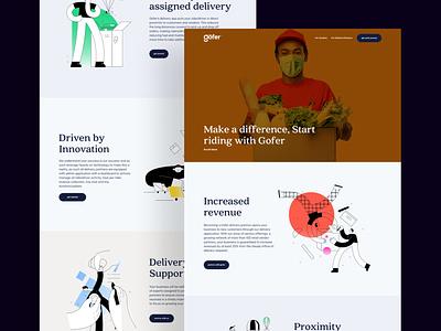Gofer - Delivery Partner delivery app delivery