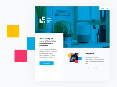ClearSpace Labs - Brand Exploration innovation designthinking business design brand ghana technology