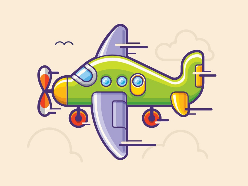 Toy plane by dan dragomir