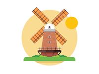 Windmill by dan dragomir