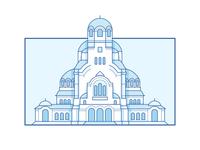 Saint Alexander Nevski Memorial Temple - Sofia