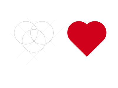 Simple Heart Icon- Made in Sketch