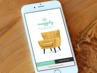 Login view - Swapply App