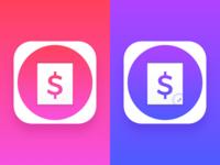 Financial App icon concept 2