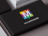 Social Mosaic Logo