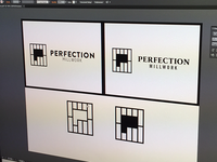 Perfection Millwork Logo Design