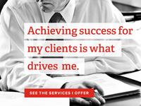 Financial Services Client Portfolio Page