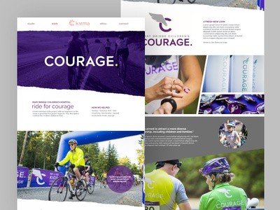Karma Design Studio - Case Studies web design website web