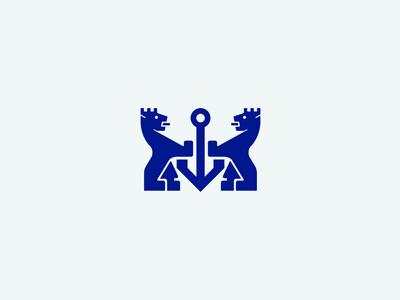 City Of Varna - Rebranding logo graphic design crowns sea crest lions bulgaria varna branding city