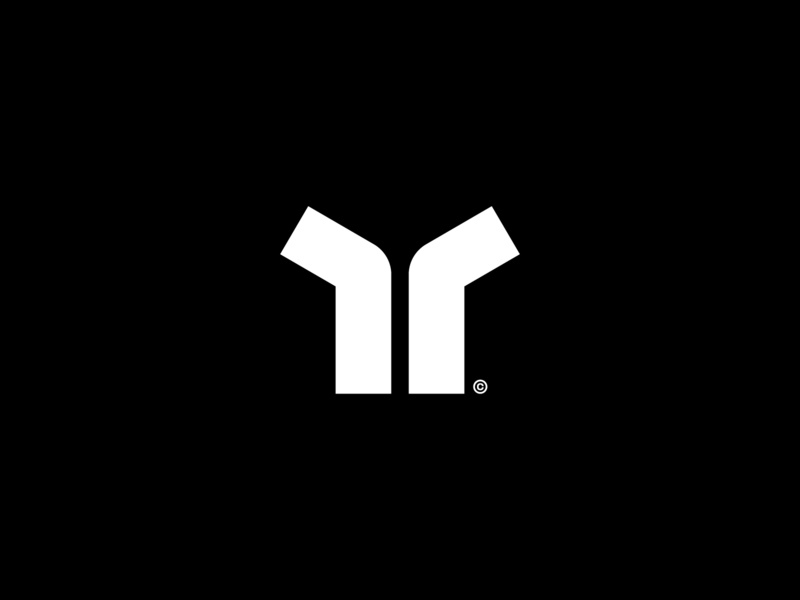 Theo graphic  design brandmark logotype wordmark mark logo minimal symbol monogram t