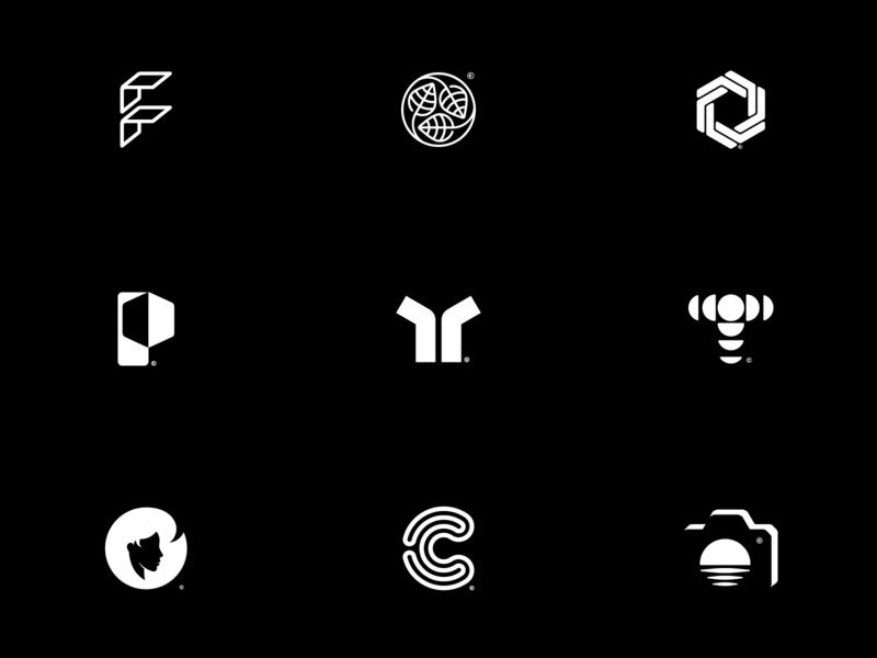 Best of the year! camera logo branding graphic design mark monogram minimal f c t symbol logo collection logo