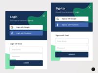 Login & Signup Modals
