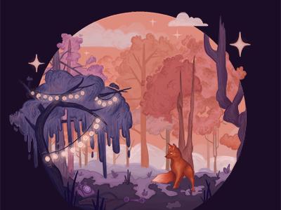 environment 01 fox narrative colortheory illustration
