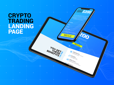 Crypto Trading Landing Page