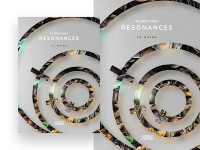 Wilfred Owen - Resonance, exhibition guide cover