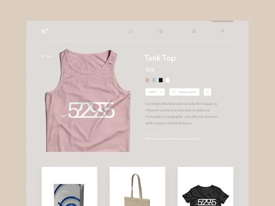 Daily UI #12 - Shop (One item)