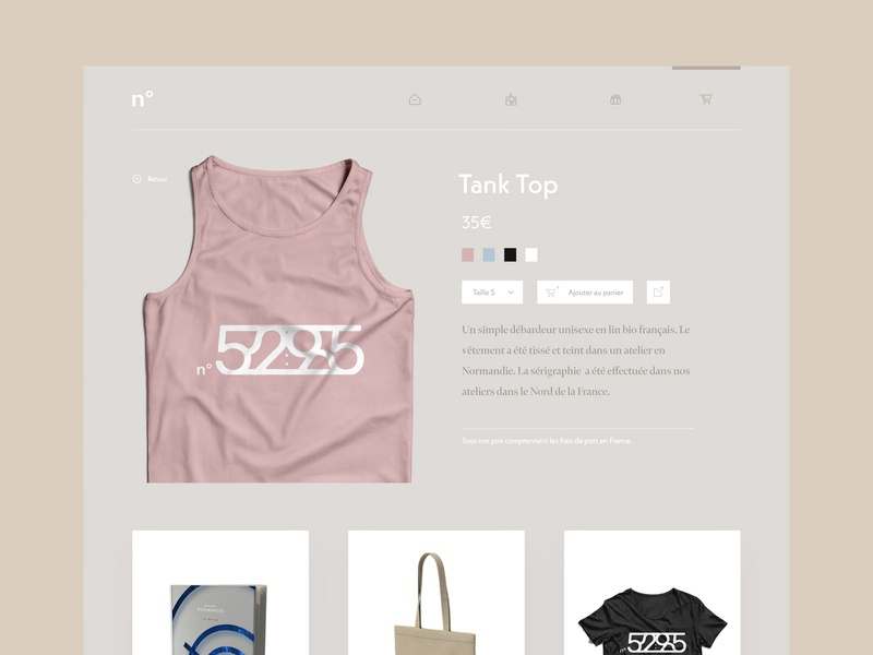Daily UI #12 - Shop (One item) shopping rose tee shirt branding type minimal typography website web flat icon app daily 100 challenge one item shop ux ui dailyui daily