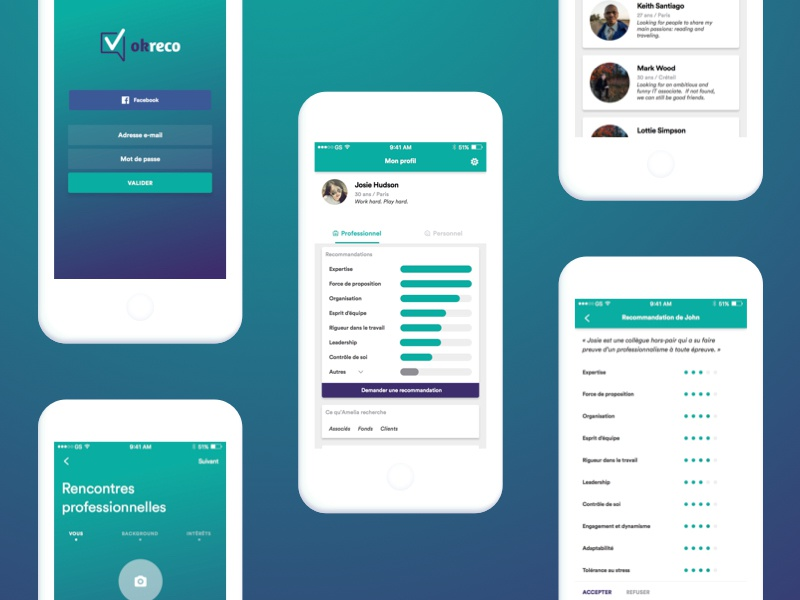 blue dating app