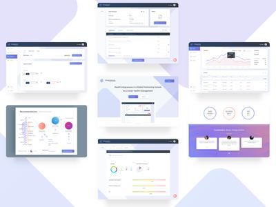 Integratome reports dashboard charts graph medicine visualisation data