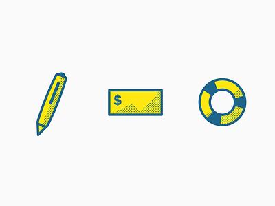 Finance Icons illustration icon design icon graphic design