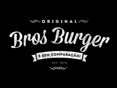 BrosBurger Original - É sem Comparação