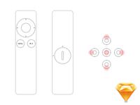 Apple Remote .sketch