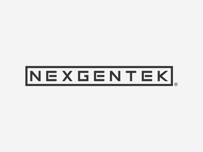NexGenTek © 2018 myinitialsareace ace typography wordmark logo
