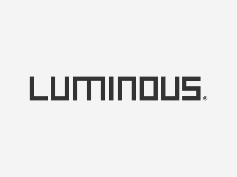 Luminous © 2018 myinitialsareace ace type typography logo