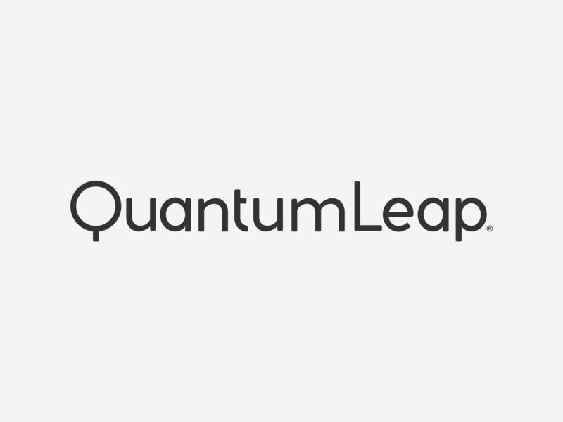 Quantum Leap © 2018 myinitialsareace ace wordmarks custom type logos typography logo