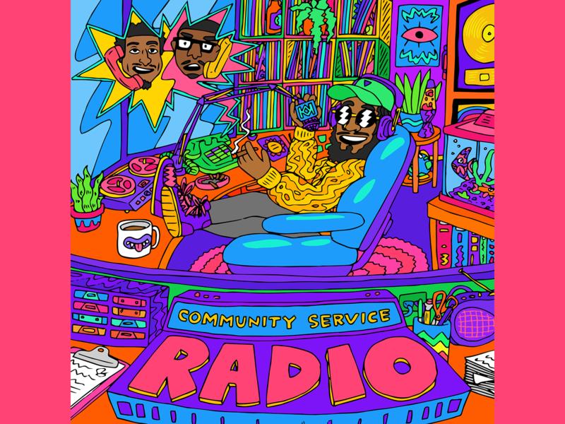 Community Service Radio