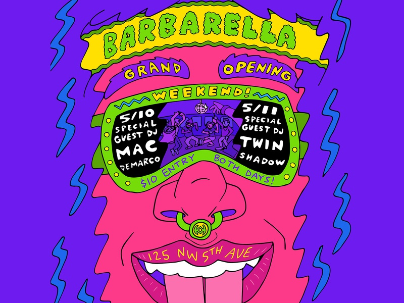 Barbarella PDX Grand Opening