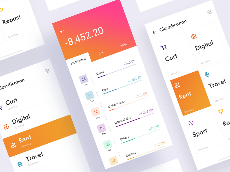 Charge To An Account 1 ux icon ui design app