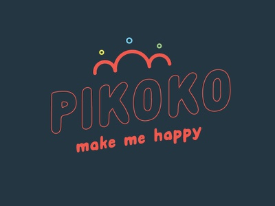 Pikoko option 2 dentity peacock branding logo