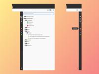 Firefox Sidebar Concept