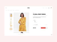 Zara Online Store Redesign