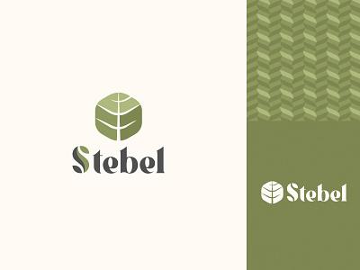 Stebel lettering typography design branding logo vector graphic design