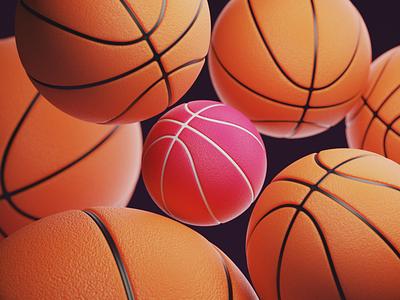 basketballs design background illustration dribbble basketballs basketball render blender3d blender graphic design 3d
