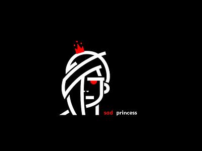 princess graphic design line